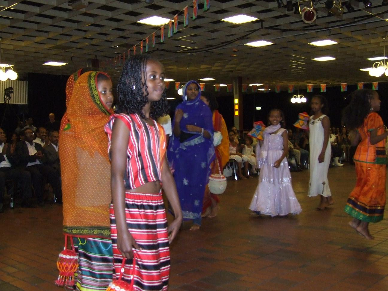Pictures of the festival eritrea 2008 in utrecht holland