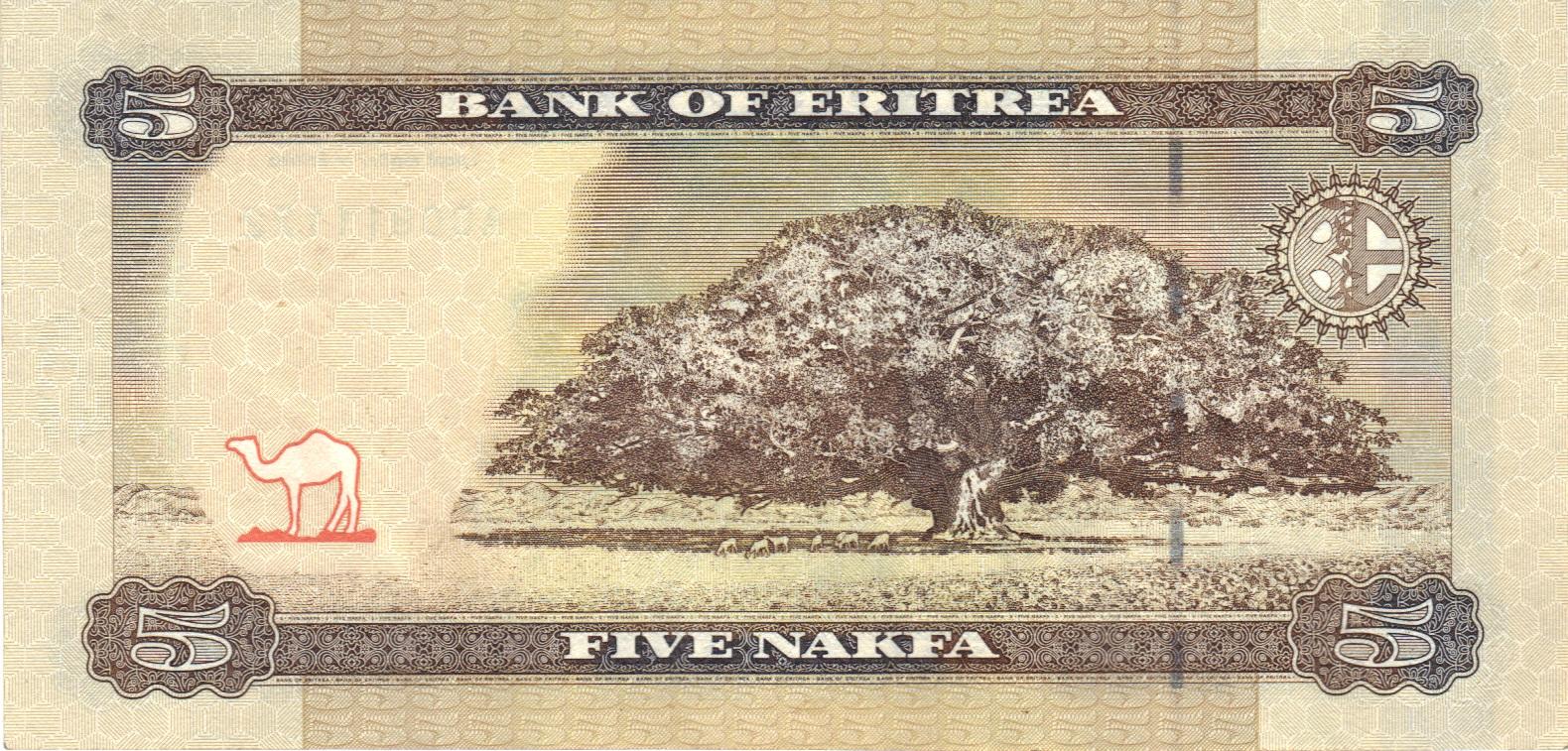 Nakfa Eritrean Currency