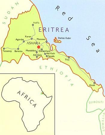 Map Of Africa Eritrea.Eritrea Maps