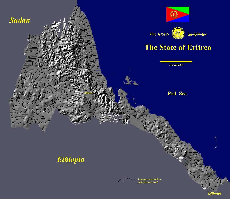 Eritrea - Maps