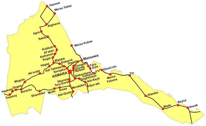 Eritrea Maps