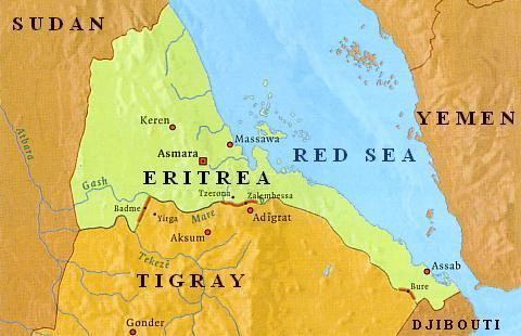 Ethiopia eritrea background to the ethiopia eritrea border conflict ethiopia5g 31 kb the ethiopia eritrea border conflict western gumiabroncs