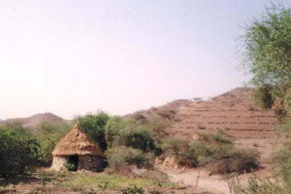 Traditional dwelling (Tukul) Keren - Eritrea
