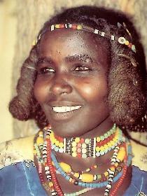 Kunama woman - Eritrea
